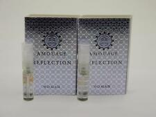 2 x Amouage REFLECTION WOMAN EDP Eau de Parfum 2ml Vial Spray New With Card