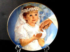 Vtg 1993 ''My First Holy Communion'' by Abbie Williams 6.5'' Decorative Plate