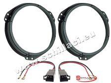 Adattatori altoparlanti Casse 165 mm connettori per Opel Zafira A / B portiere a