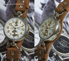 US KIROVA RETRO cal. Poljot 3133 russian aviator chrono
