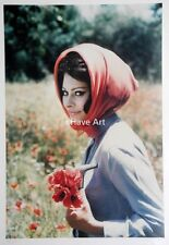 Sophia Loren-Life Mag.-A.Eisenstaedt-Photography-Color-S/N-L/E-Art-Cert.of Auth.