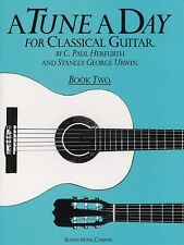 A Tune A Day For Classical Guitar Learn to Play Beginner Chord Music Book 2