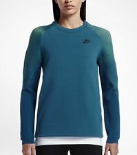 Nike Women's Sportswear Tech Fleece Crew Sweathshirt (XS) 809537 301