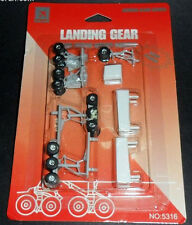 5316 A380 Wheel Landing Gear Set w/ rubber tires   Hogan Wings 1:200