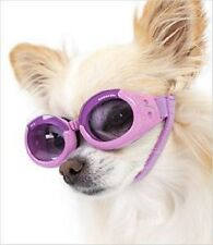 SUNGLASSES FOR DOGS by Doggles -  LILAC FRAME WITH PURPLE LENSE - MEDIUM