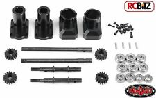 RC4WD Portal Rear Axle CONVERSION Axial AX-10 Axles AX10 Scorpion SCX10 Z-A0091