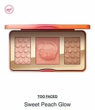 NEW Too Faced Sweet Peach Eye Shadow Collection Palette 3 Colors Eyeshadow Make