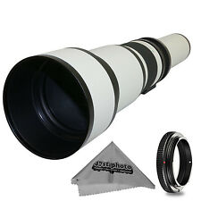 Super 650-1300mm f/8-16 HD Telephoto Zoom Lens for Panasonic Lumix DMC