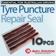 Car Tyre Repair 10 PCS Tubeless Seal Strips Plugs for Tire Puncture Recovery Kit