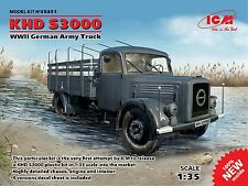 GERMAN ARMY TRUCK KHD S3000 1/35 ICM 35451