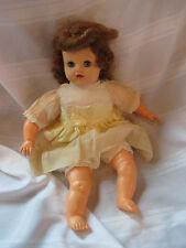 Baby Ruth pretty soft rubber baby doll marked IDEAL DOLL vintage sleep eyes soft