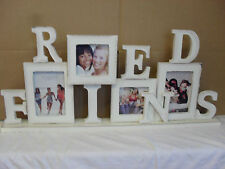 Modern shabby chic FRIENDS photo frame 27'' long