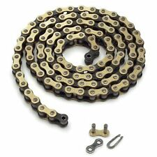 NEW KTM FACTORY RACING CHAIN 1/2x3/16 (415) HEAVY DUTY 50 SX GOLD  45110265104