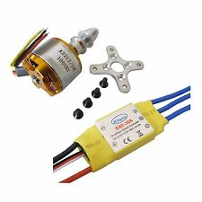 XXD A2212 1000KV Brushless Motor + 30A ESC for Multicopter 450 X525 Quadcopter