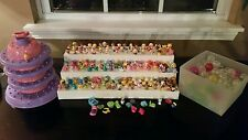 Huge Lot of SQUINKIES Hello Kitty Disney GIRLS Display Carousel MUST SEE!  CUTE!