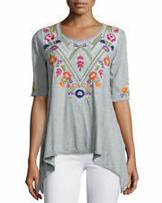 NWT $133 Johnny Was XL JWLA Trapeze Tee