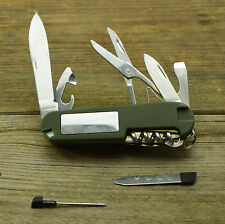 Camping Hiking Multi-Tool Survival Knife With White LED, Compass & Signal Mirror