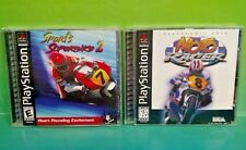 Sports Superbike 2 + Moto Racer - Playstation 1 2 PS1 PS2 Rare Games Complete