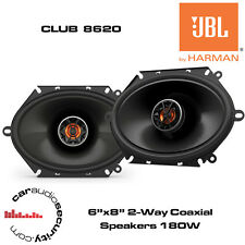 "JBL CLUB 8620 - 6""x8"" / 5""x7"" 2 Way Coaxial Car Speaker 180W Total Power"