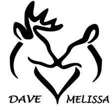 """Personalized Buck and Doe Window Sticker Decal 6"""""""