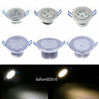 Dimmable CREE LED Recessed Ceiling Flood Down Spot Light Bulb 9/12/15/21/27/36W