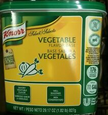 29 oz Pack Knorr Vegetable Flavor Base,Cooking,Soup,Stock,Seasoning,GF,No MSG