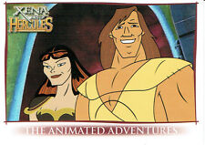 HERCULES AND XENA ANIMATED PROMOTIONAL CARD P1