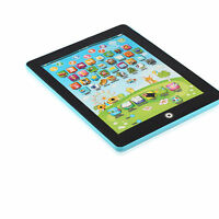 Blue Kids Ipad Tablet Computer Ipad Children Educational Play Read Game Toy