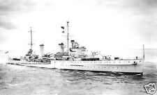 ROYAL NAVY LEANDER CLASS LIGHT CRUISER HMS AMPHION IN 1936