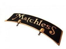 Matchless Brass Front Mudguard Number Plate@ US