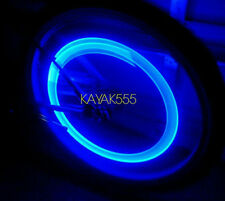 4 X BLUE LED VALVE STEM TIRE LIGHTS CAPS TRICK UR TRUCK VAN ETC.. PIMPED OUT