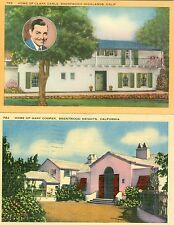 Brentwood Highlands, CA Homes of Clark Gable and Gary Cooper