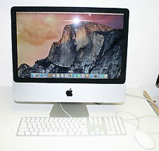 "Apple iMac 20"" 2.0ghz Core 2 DUO 1tb HD 4gb MAC OS X EL CAPITAN"
