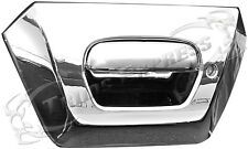 2002-2006 Chevy Avalanche Chrome Tailgate Rear Door Handle Covers w/Keyhole