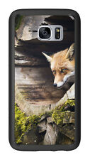 Fox In Tree Trunk For Samsung Galaxy S7 G930 Case Cover by Atomic Market