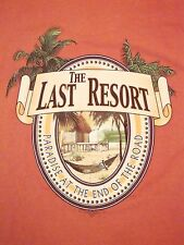 The Last Resort Paradise At the End of The Road Hammock T Shirt XL