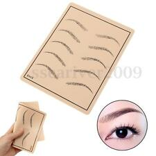 Professional Cosmetic Permanent Makeup Eyebrow Tattoo Practice Skin Supply