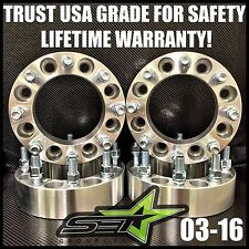 8X170 WHEEL SPACERS 2 INCH 50MM 8 LUG ADAPTER FORD F250 F350 SUPERDUTY EXCURSION