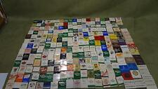 Huge Match Book Lot; collectible tobacco vintage hobby