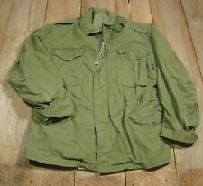 VTG 1967 Vietnam WAR M65 Field JACKET-MR-Allen-M-65-Good-Authentic