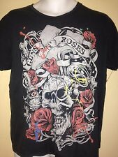 GUNS N ROSES SKULL RIFF STARS LIMITED EDITION MEDIUM T-SHIRT ROCK METAL SLASH