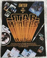 Star Wars 1982 Official Fan Club Membership Application Form Flyer Revenge