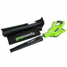 GreenWorks 24312 DigiPro G-MAX 40V Cordless 185MPH Blower/Vac, Tool Only , New,