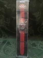 Noon Copenhagen Watch 17-016 red band new sealed men women