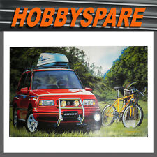 FUJIMI 1/24 SUZUKI ESCUDO VITARA WITH TREK 800 BIKE CAR KIT JAPAN 16042 FL-2