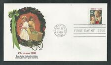 # 2399 CHRISTMAS, MADONNA & CHILD 1988 Fleetwood First Day Covers