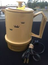 Regal POLY-PERK 1960s 1970s Percolator Coffee Retro Vintage Electric Motel EXC++