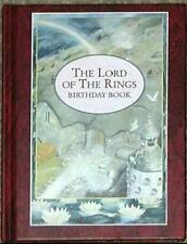 THE LORD OF THE RINGS BIRTHDAY BOOK ~ ULTRA RARE!