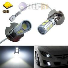 2x High Power H3 White CREE 8 5230-SMD LED Bulbs for Fog Lights or Driving Lamps