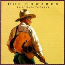 Goin' Back To Texas - Don Edwards (1993, CD NIEUW) CD-R
